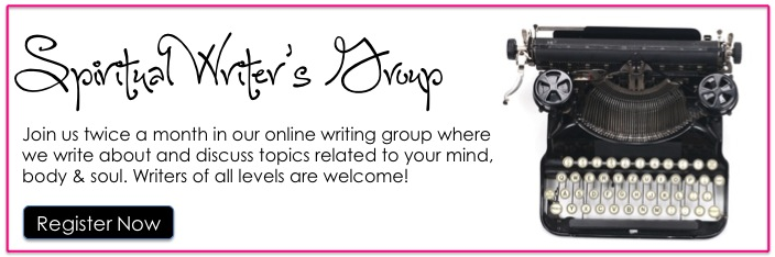 online spiritual writing group